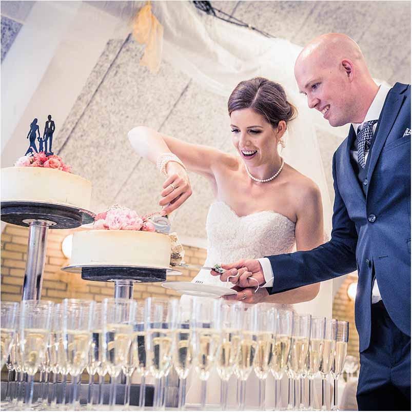 objektiv til bryllupsfoto