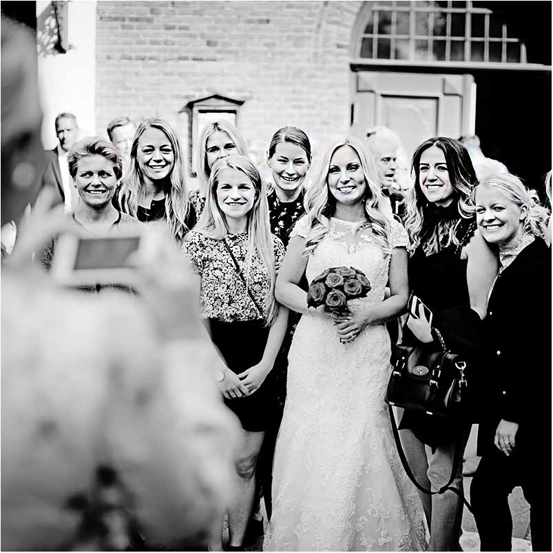 familie bryllupsfoto