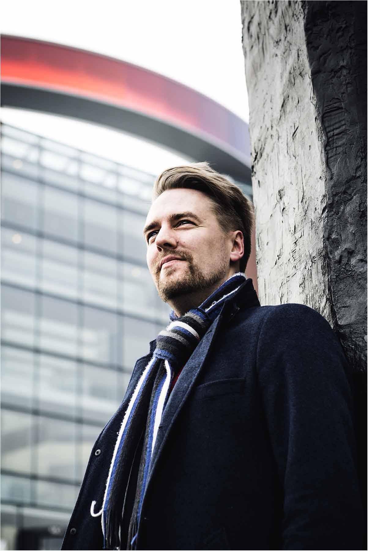 portrætfoto taget ved Aros Aarhus.